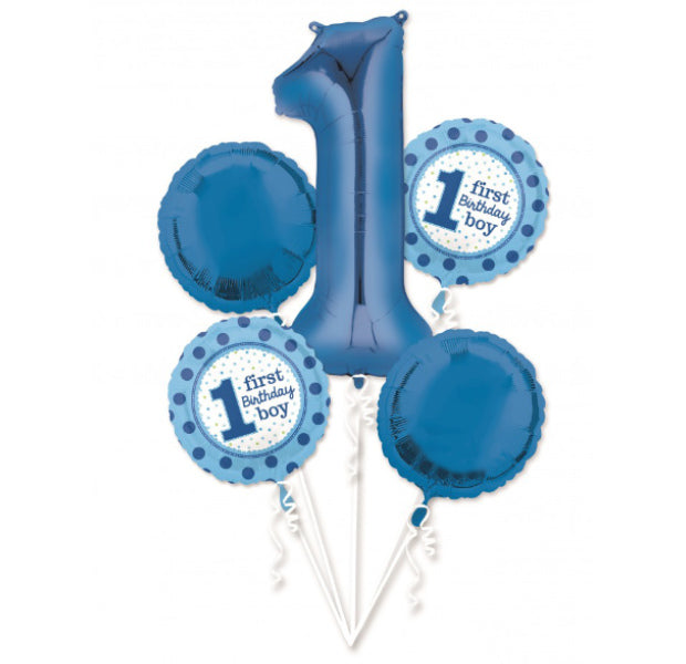 First Birthday Bouquet Boy or Girl - Balloon Express