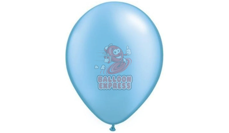 Pearl Azure -Helium Inflated - Balloon Express