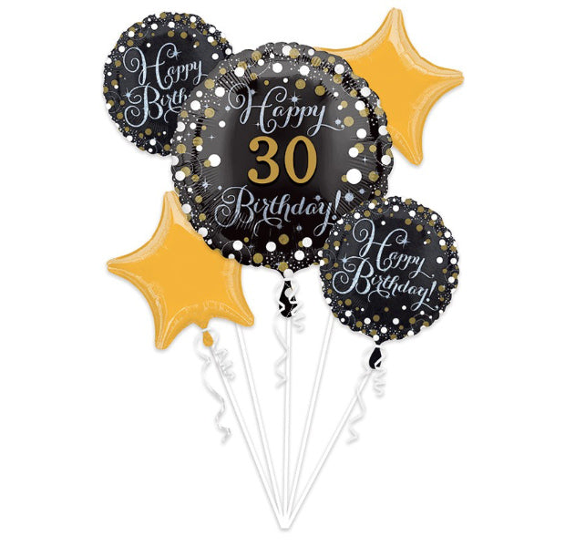 Sparkling Birthday Personalized It ! - Balloon Express