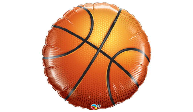 Basketball Super Shape Inflated - Balloon Express