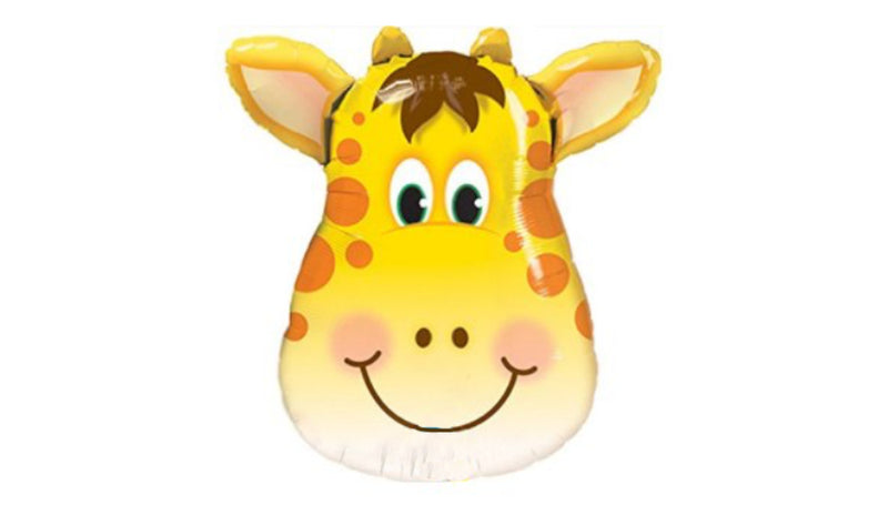 S/S NON LICENSED MYLARS: Giraffe Head - Balloon Express