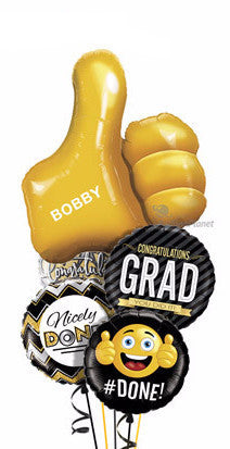 Grad Bouquet - Balloon Express