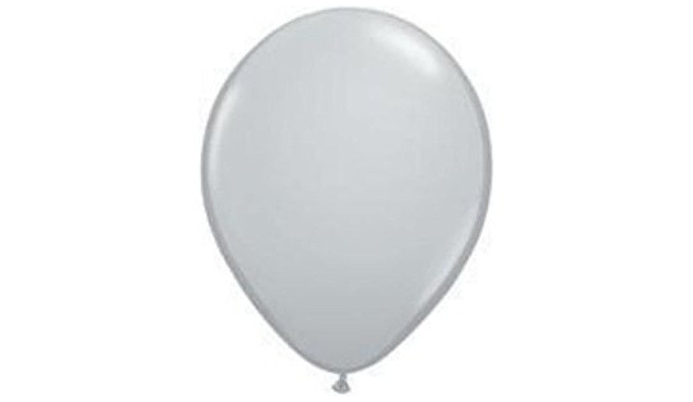 Gray- Helium Inflated - Balloon Express