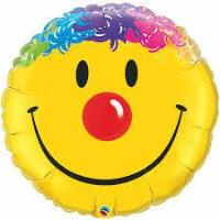 s/s Happy Face Foil - Balloon Express