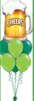 St. Patrick's Day Cheers bouquet