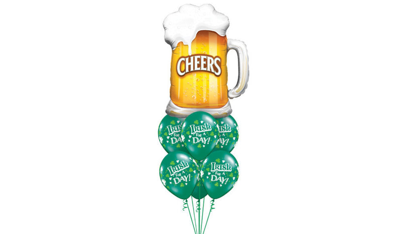 Irish For A Day Bouquet - Balloon Express