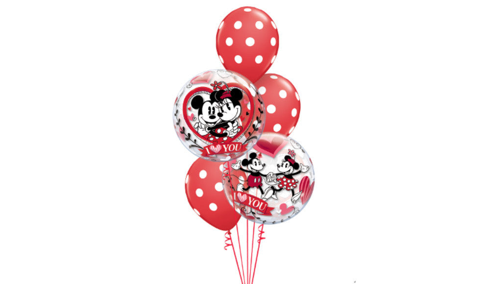 Mickey & Minnie Love Bouquet - Balloon Express