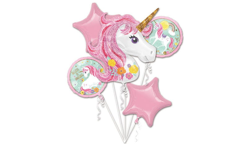 Magical Unicorn Foil Bouquet - Balloon Express