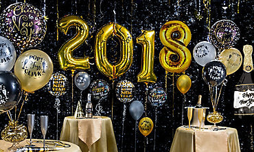 New Year's Decor - Balloon Express