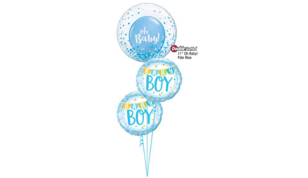 Oh Baby! Deco Bubble Bouquet - Balloon Express