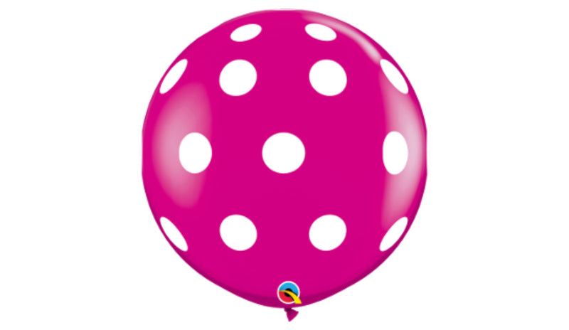"Big Polka Dots 36"" - Balloon Express"