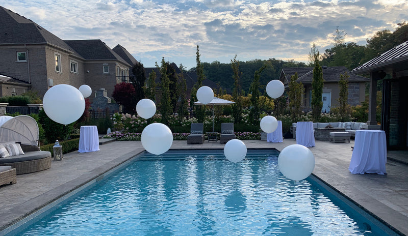 Pool Balloons Package