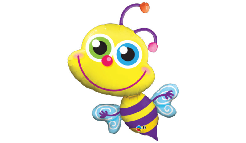 Beaming Bee Inflated - Balloon Express