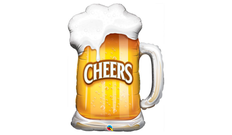 "35"" Cheers Beer Mug - Balloon Express"