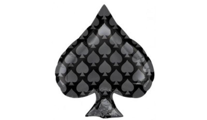 15664 - CASINO ACE OF SPADE FOIL - Balloon Express