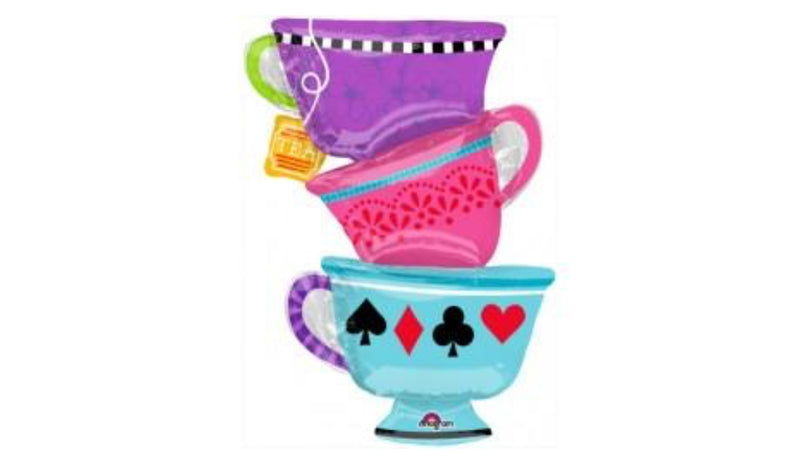 Super Shape Alice in Wonderland Mad Tea Party Foil