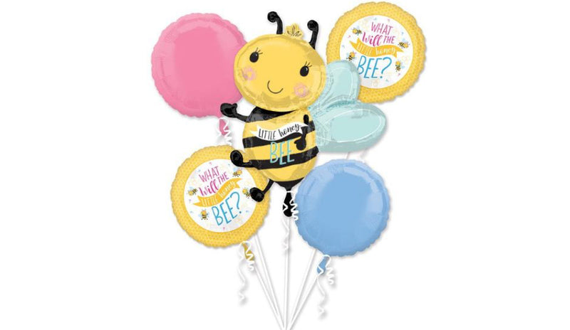 """What Will It Bee"" Baby Bouquet - Balloon Express"