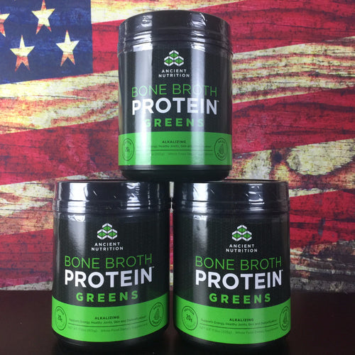 Bone Broth Protein Greens (3PK)
