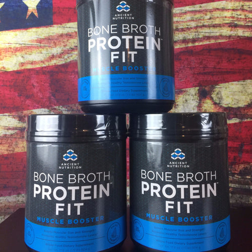 Bone Broth Protein Fit  Muscle Booster (3PK)