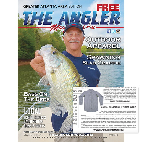 The Angler Magazine Atlanta Cover