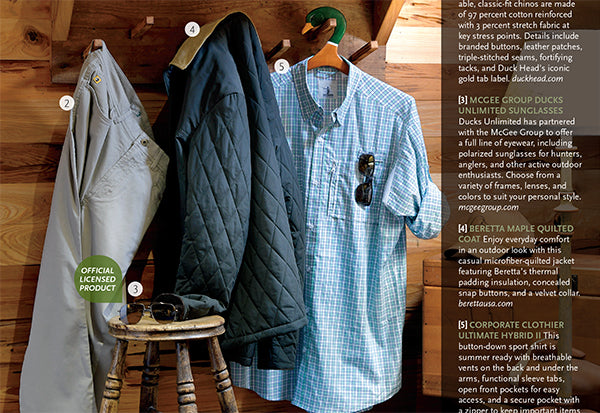 Ducks Unlimited 2019 Gear Guide