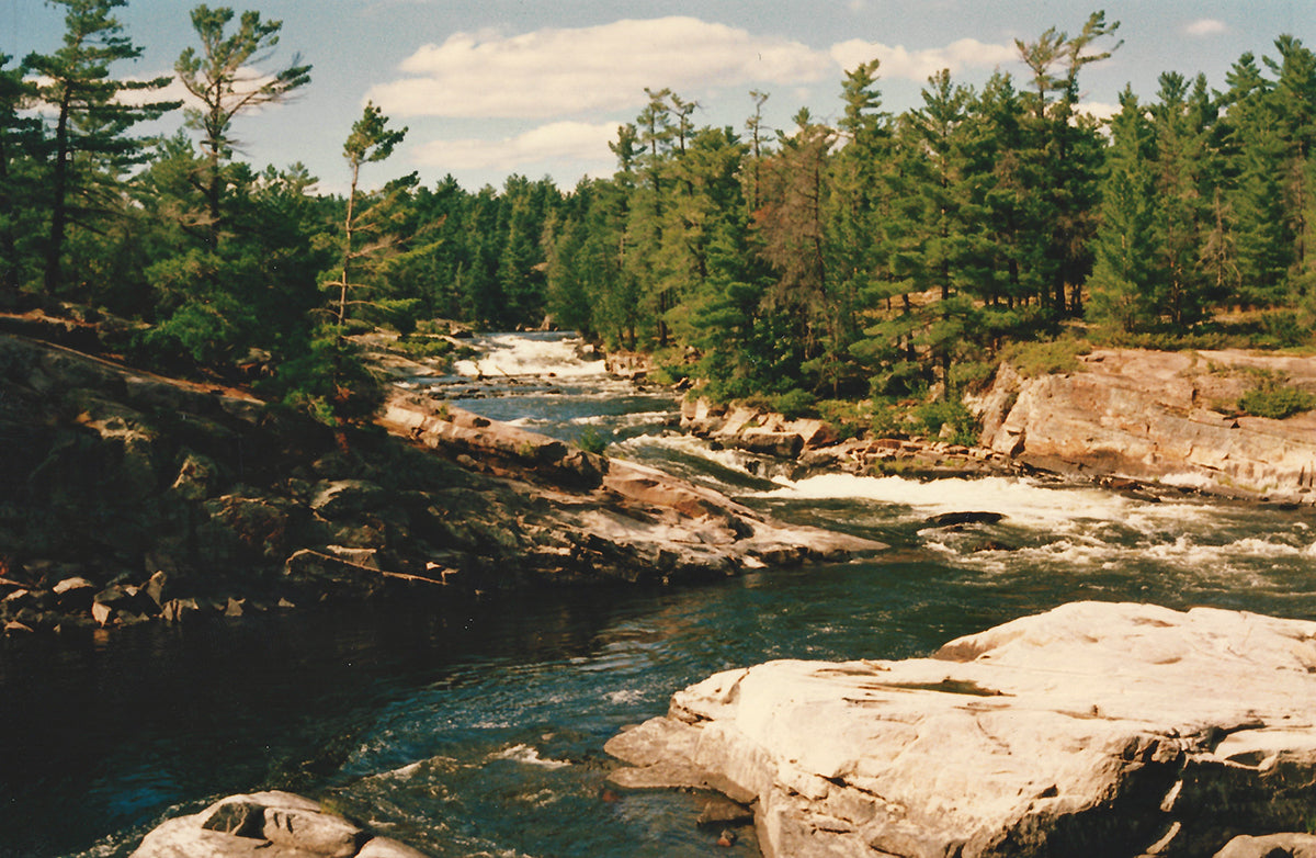 French River Five Fingers Rapids