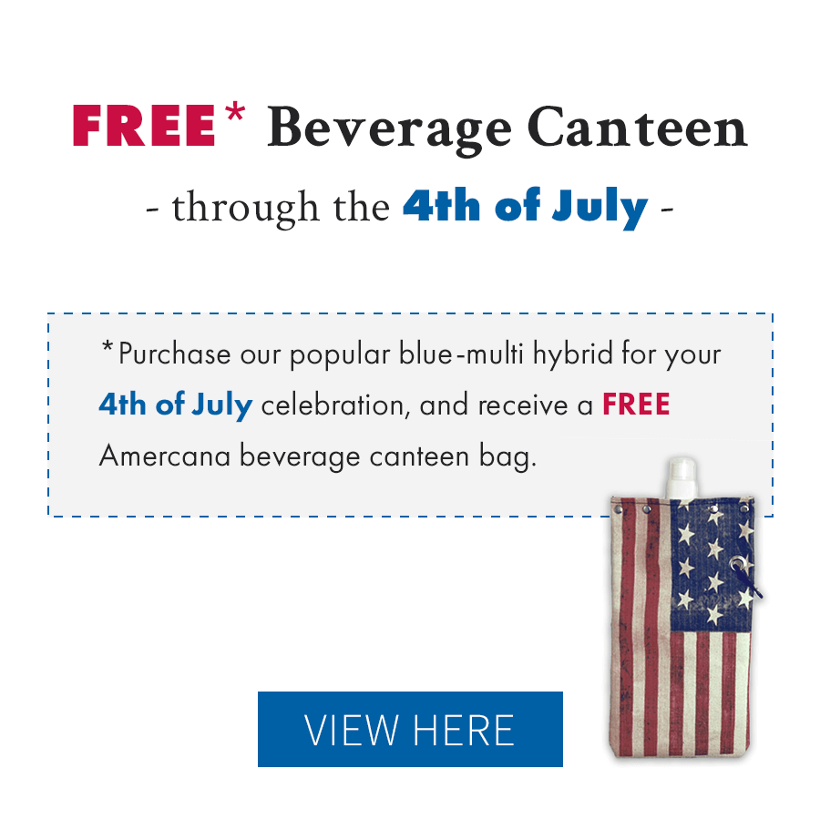 Free American Flag Canteen