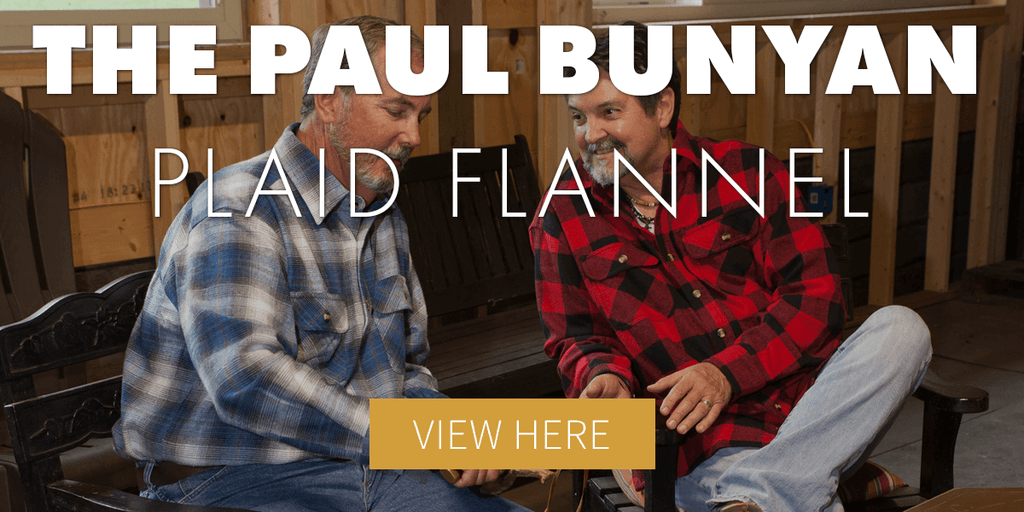 Paul Bunyan Plaid Flannel Shirt