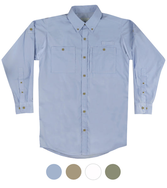 Solid Hybrid Fishing Shirt