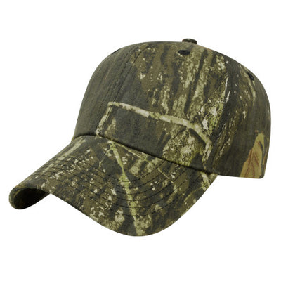 Unstructured Six Panel Camo Cap