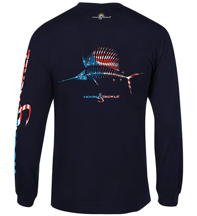 Long Sleeve American Sailfish Tee