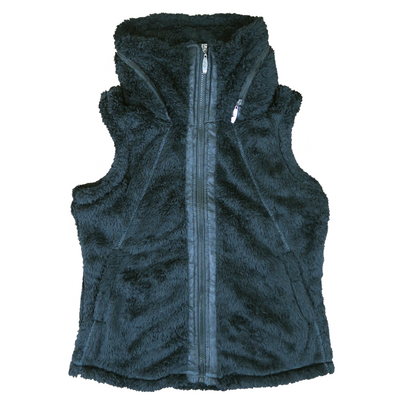 Fur Fleece Bundle - Women's Vest & Throw