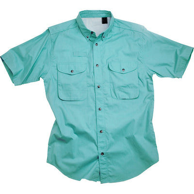 LAST CHANCE:  Poplin Fishing Shirt - Short Sleeve