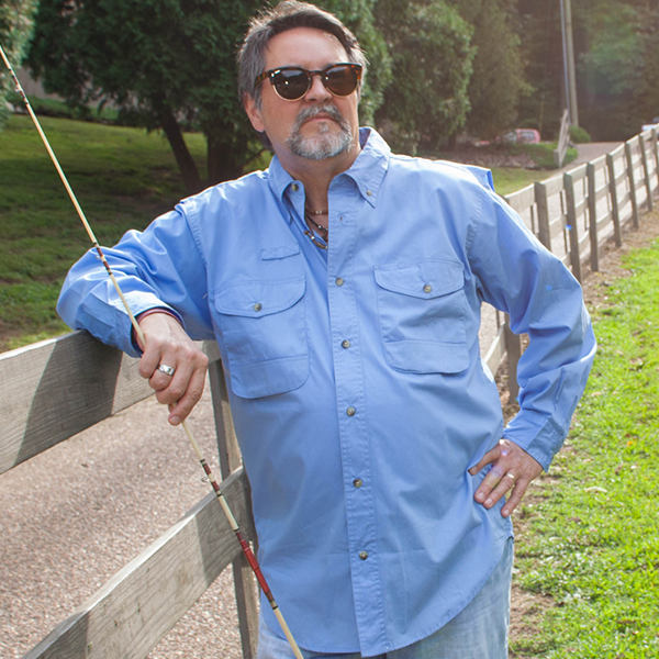 The Hemmingway Poplin Fishing Shirt