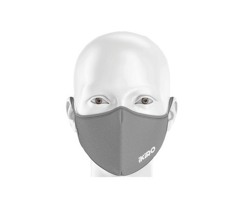 FACE MASK - GREY (2 masks per order)