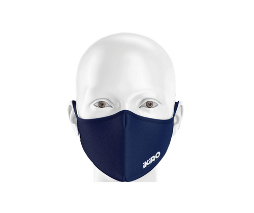FACE MASK - NAVY BLUE (2 masks per order)