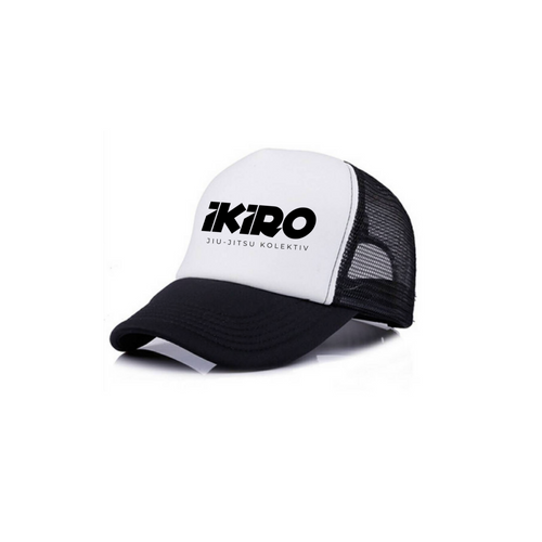 IKIRO TRUCKER WHITE/BLACK