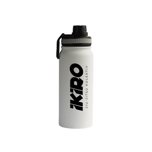 IKIRO STAINLESS WATER BOTTLE - WHITE