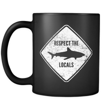 Respect The Locals Shark Mug - KOBU.US