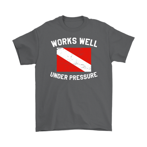 Works Well Under Pressure Vintage Men's T-Shirt - KOBU.US