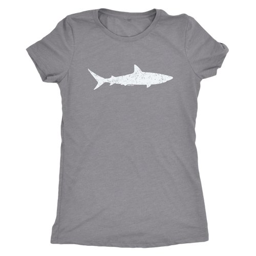 Shark Retro Vintage Women's T-Shirt - KOBU.US