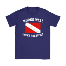 Works Well Under Pressure Vintage Women's T-Shirt - KOBU.US