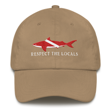Respect The Locals Shark Diving Hat - KOBU.US