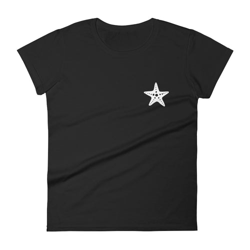 Women's Starfish Beach T-Shirt Ocean Lover Surf Tee - KOBU.US