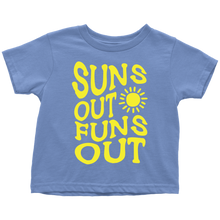 Suns Out Funs Out Toddler Shirt - KOBU.US