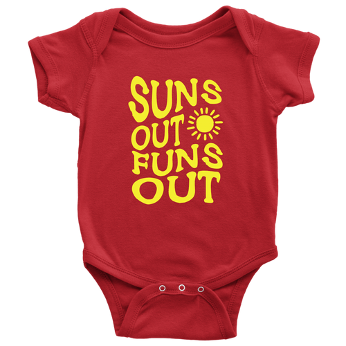Suns Out Funs Out Baby Onesie - KOBU.US