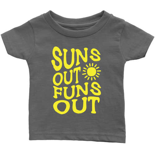 Suns Out Funs Out Baby Shirt - KOBU.US