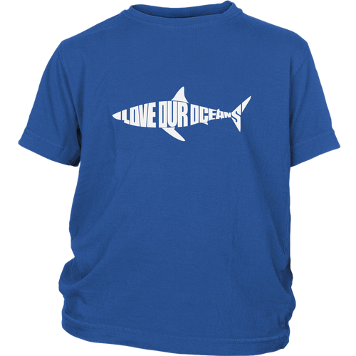 Love Our Oceans Big Kid T-Shirt - KOBU.US