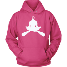 Cross Legged Meditating Freediver Long Sleeve Unisex Hoodie - KOBU.US