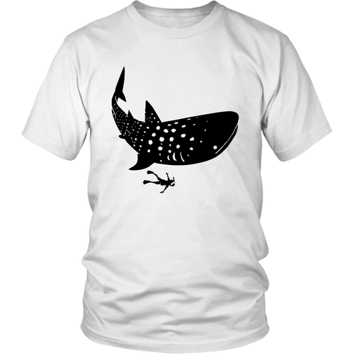 Whale Shark Diving Unisex T-Shirt - KOBU.US